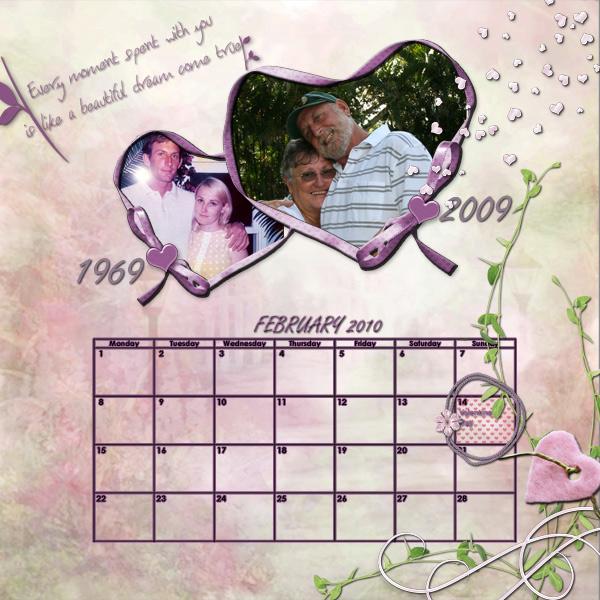 Feburary-calendar